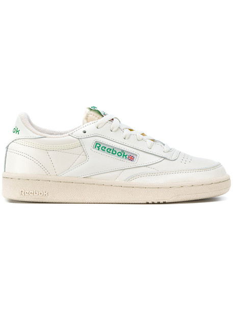 reebok women classic sneakers leather white cotton shoes