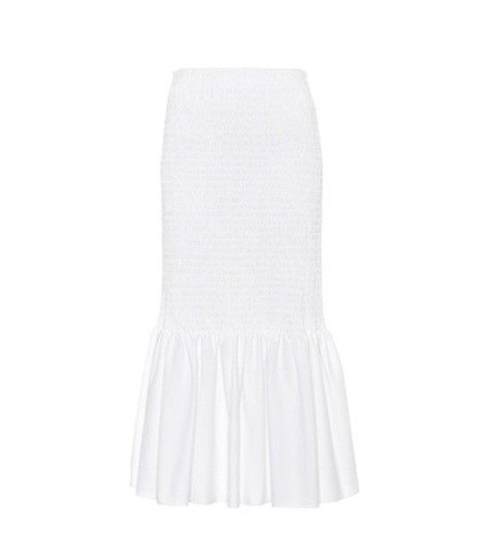 CALVIN KLEIN 205W39NYC skirt cotton white