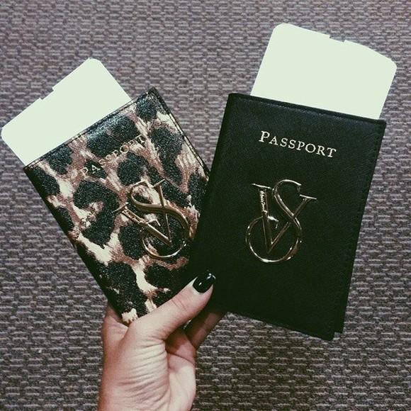 victoria's secret vs bag passport passport cover
