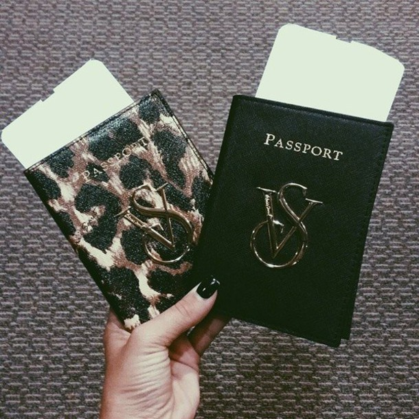 Top Bag: vs, victoria's secret, passport cover, passport cover  ON84