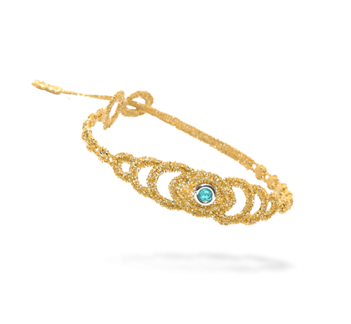 Braccialetto Cruciani C Jewels-Amulet Lurex