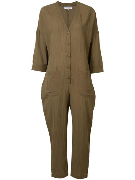 Apiece Apart 'Nasiria' jumpsuit, Women's, Size: 6, Nude/Neutrals, Cotton
