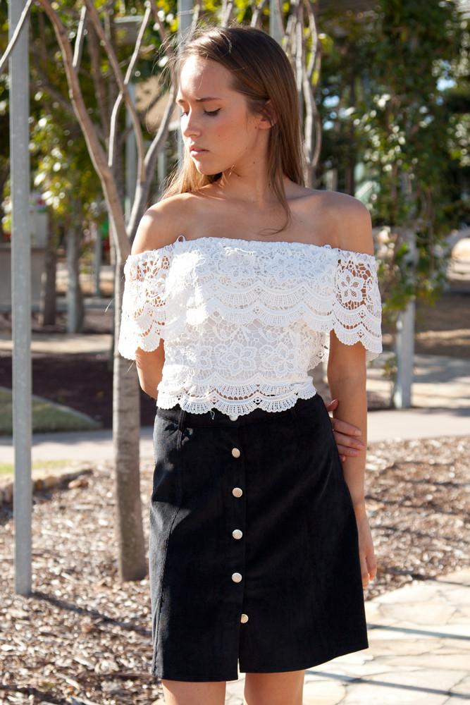 Chandelier crop top – shop fashion avenue