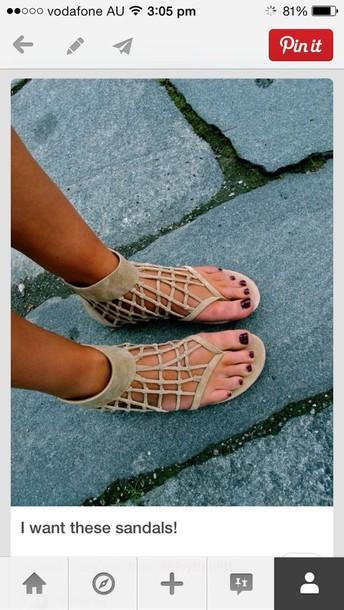 c6fa78e2087a shoes sandals flat sandals suede shoes beige shoes brown shoes summer tan  shoes