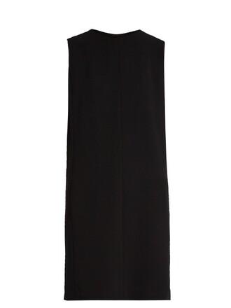 dress sleeveless black
