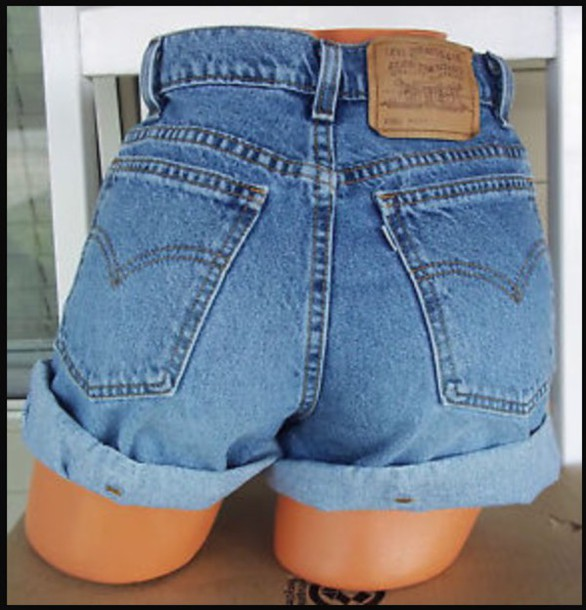 Shorts: levi's, levi's shorts, high waisted shorts, denim shorts ...