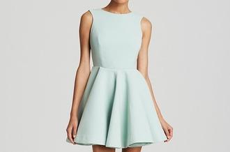 dress blue dress turquoise green dress mini dress skater dress sleeveless sleeveless dress