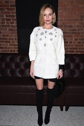 kate bosworth white coat
