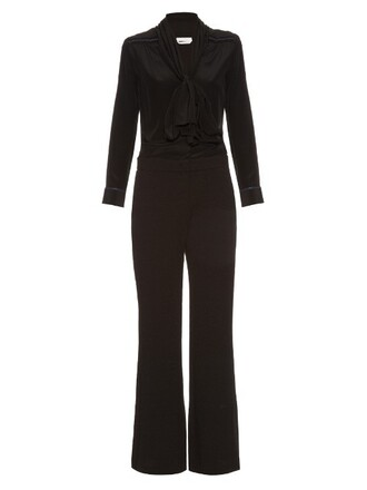 jumpsuit long black