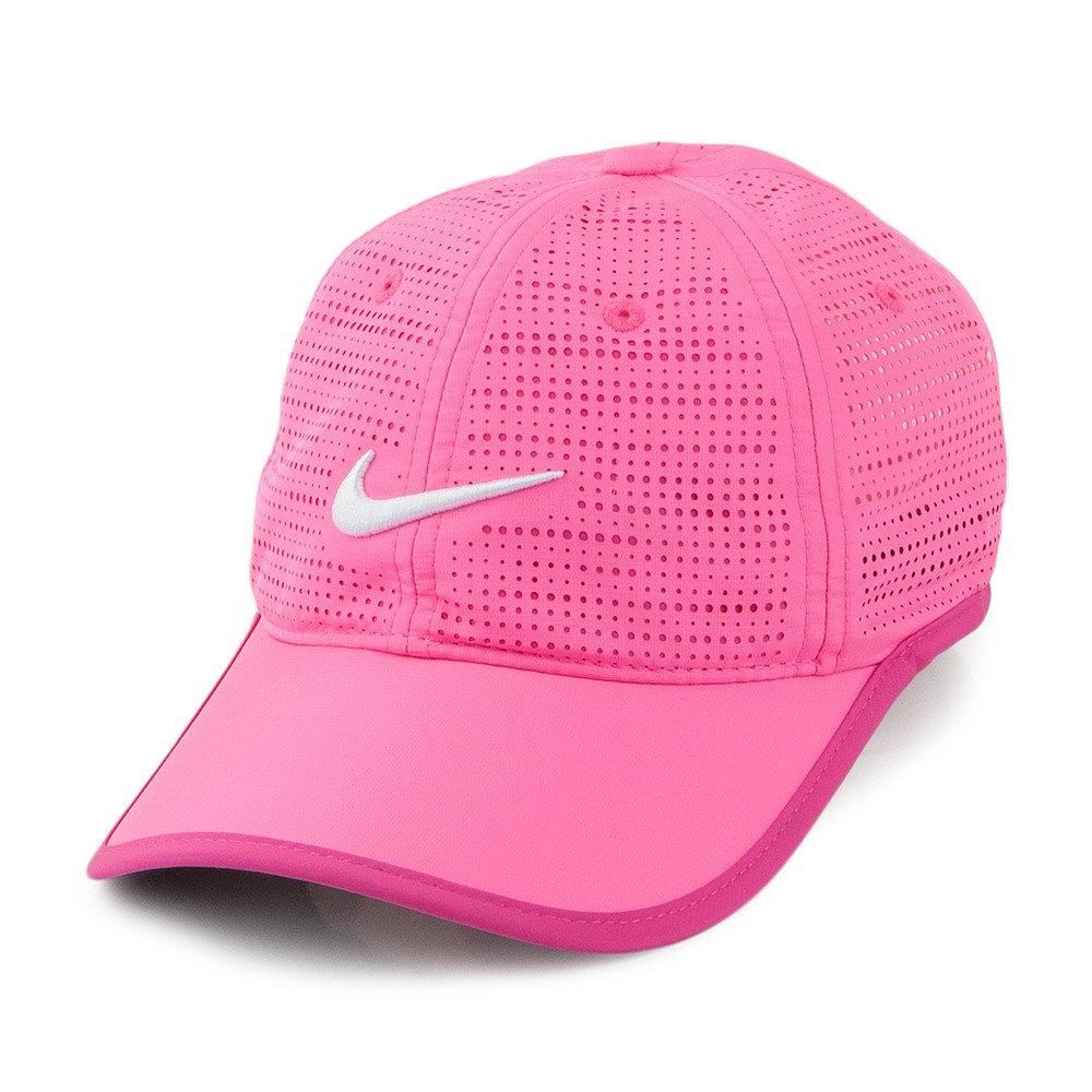 Nike Golf Hats Perforated Baseball Cap - Pink from Village Hats. 0435cf3cce8