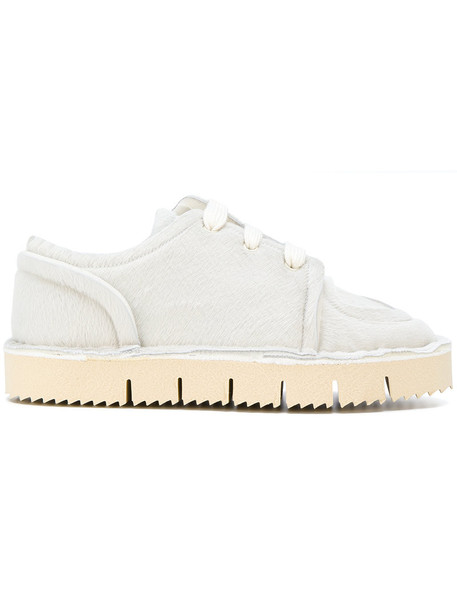 MARNI hair women sneakers nude cotton shoes