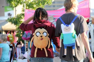 bag finn jake adventure adventure time cute love adventure time bag