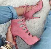 shoes,high heels,style,lace up heels,heels,strappy,strappy heels,pink,beige,nude,nude high heels,pink shoes high heels,dusty pink,lace up,all pink wishlist,blush pink,sexy shoes,nude pink,pink high heels,fashion,pink heels,pink shoes,rose heels,rose pink,rosy,rose,boots,girly,pastel pink,light pink,baby pink,cute high heels,lace-up shoes,heel,lace top,straps,sandals,high heel sandals