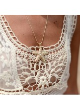Crochet Lace Vest Top