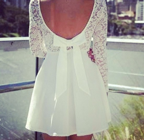 dress lace white white dress cute summer elegant graduation dress lace dress cute dress