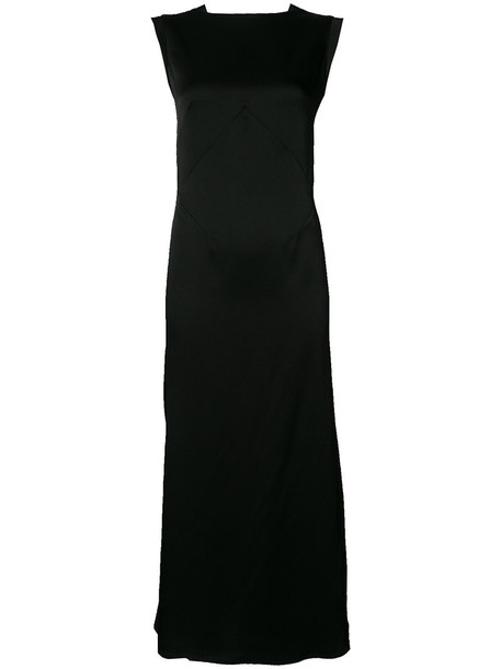 Tome dress back women black