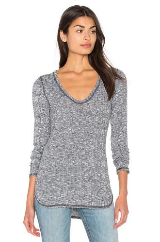 top long grey