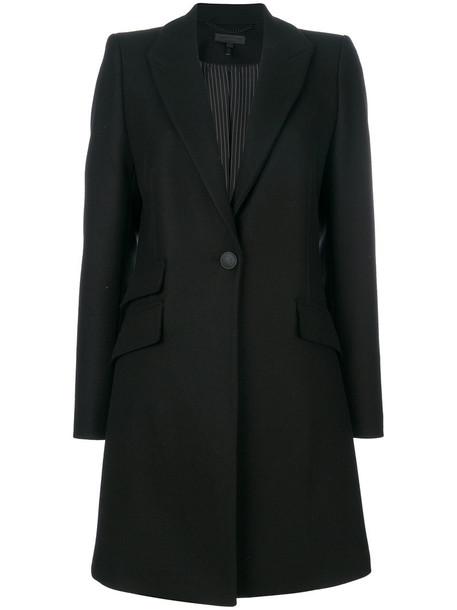 Rag & Bone coat women cotton black wool