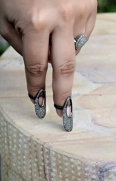 Nail Polish Gemco Jewelry Gemco Designs Nail Armour Diamond Ring