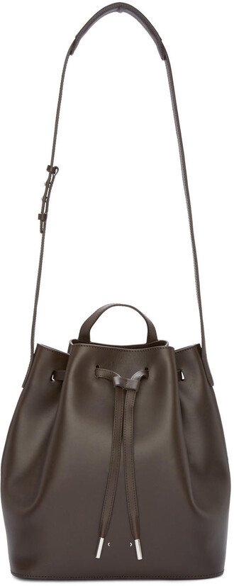 bag bucket bag brown