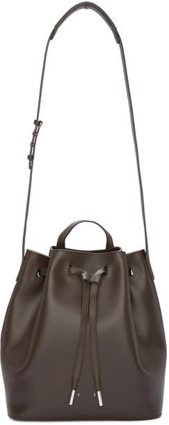 PB 0110 bag bucket bag brown