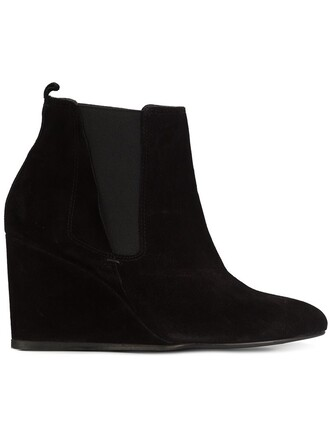 boots chelsea boots black shoes