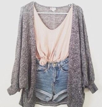 blouse casual shirt coral shirt lose t-shirt