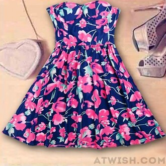 dress floral nice