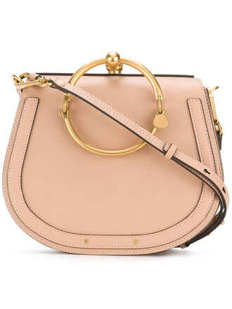 women bag leather nude suede