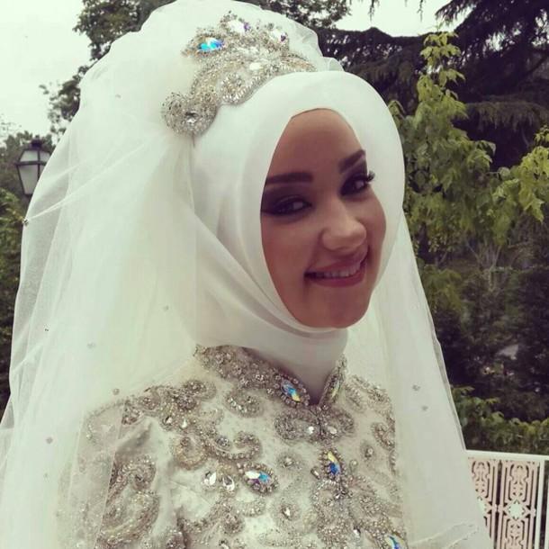 Hair Accessory Hijab Wedding Accessories Muslim Muslim Wedding Dress Muslim Outfit