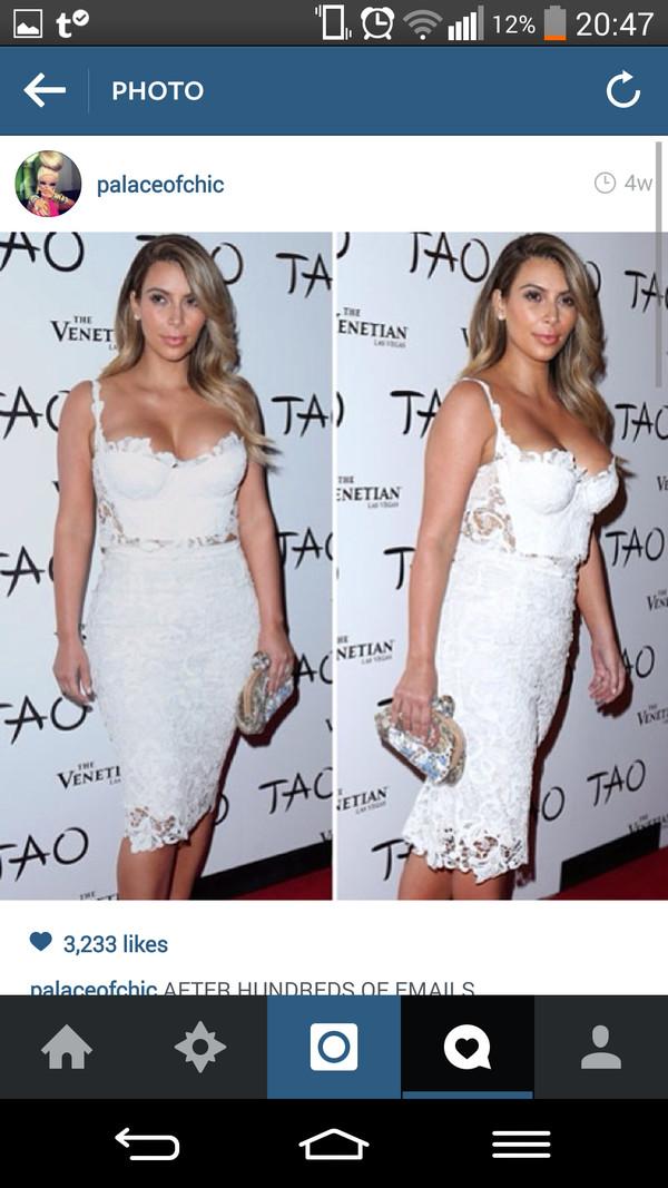 kim kardashian crop skirt prom top dress