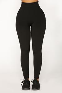 Since Day One Seamless Leggings - Black