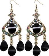 jewels,beaded earrings,chandelier earrings,fashion earrings,sexy earrings,candyluxx