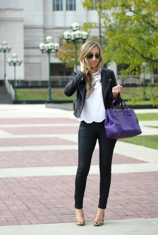 lilly's style blogger jacket top