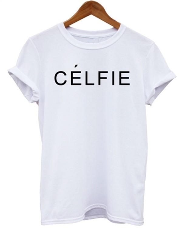 t-shirt trendy celfie celine parody