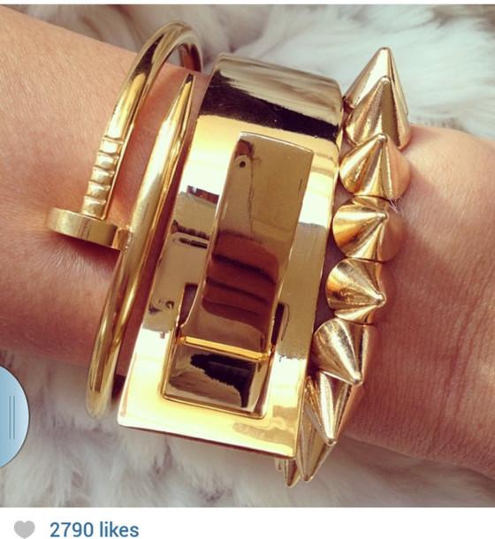 jewels jewelry gold gold jewelry bracalet jewelry bracelets accessories fashion statement bracelet