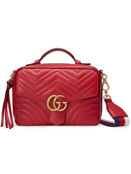 women bag shoulder bag leather red