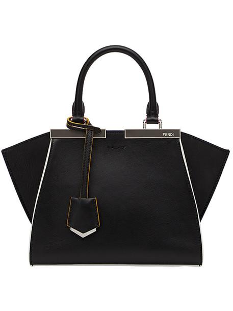 Fendi - 3Jours tote - women - Calf Leather/Lamb Skin - One Size, Black, Calf Leather/Lamb Skin