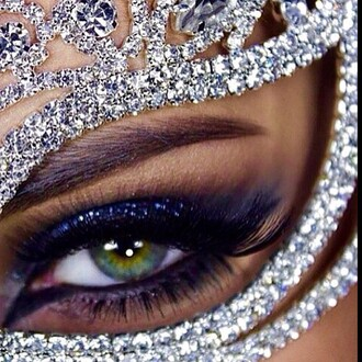 jewels mask mask necklace diamands