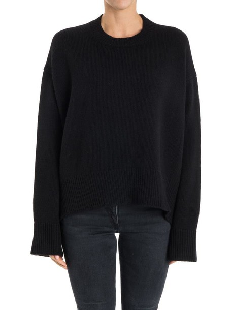 sweater wool sweater wool black