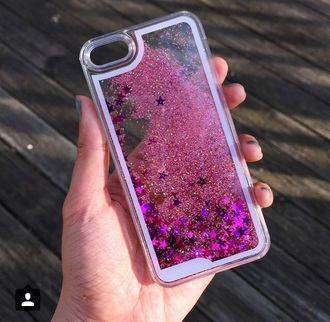 phone cover pink iphone cover mermaid girly sparkle
