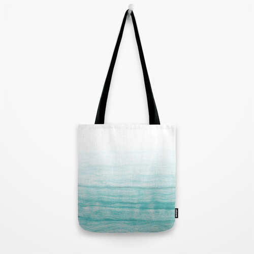 Turquoise sea Tote Bag by AhaC