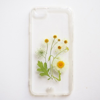 phone cover summer summer handcraft iphone case iphone cover gift ideas daisy flowers floral fashion trendy green lovely gift girlfirend gift birthday gift best gift girlsfriend gift anniversary gift accessories iphone gossip girl white daisy