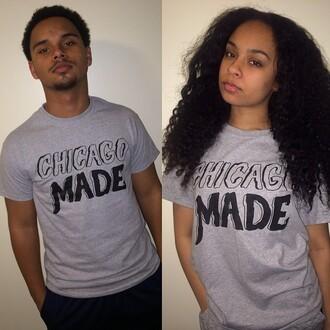 shirt chicago made chicago made gray designers