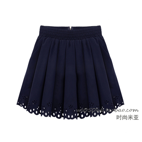 2013 european summer fashion brand women mini skirt lace