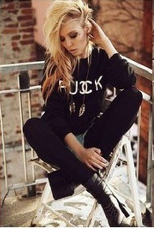 Fucck or CCunt CC Logo Sweatshirt from Tumblr Fashion on Storenvy