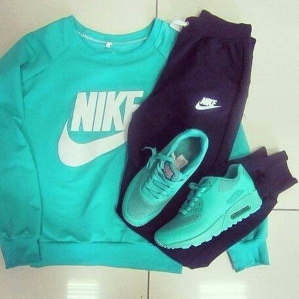 sweater aqua t-shirt jacket sweater air max crewneck shoes türkis nike schuhe pants nike turquoise nike jumperr nike sweat pants black pants sweatpants bag turquoise track pants sweatshirt top sportswear leggings cardigan turquoise jumper fitness gym gym clothes blue outfit workout gym leggings running shoes tracksuit jumpsuit nike jumpsuit blouse nike sweater ?? turquoise nike sweater turquoise nike air max nike running shoes nike sweater nike sweatpants teal green twerk