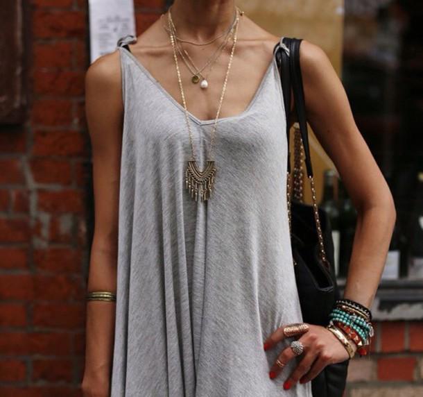 77dc4d879ab1 dress grey grey cute swing dress style cute dress short dress summer dress  fashion preppy hipster
