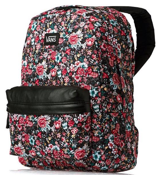 bag floral vans bag floral backpack