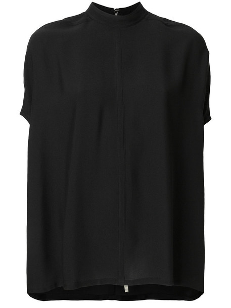 Rick Owens blouse women black top